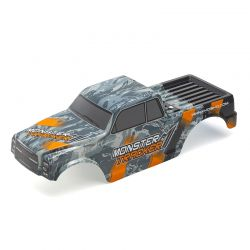 Bolha Carroceria Kyosho Ezb001Or  Monster Tracker Laranja Pintada