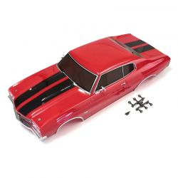 Peça Kyosho Fab405 Completed Body Set Chevelle Cranberry Red
