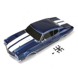 Peça Kyosho Fab406 Completed Body Set Chevelle Fathom Blue