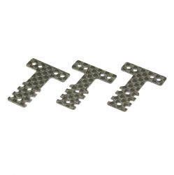 Peça Kyosho Mzw403 Carbon Rear Suspension Plate Set Mm Lm