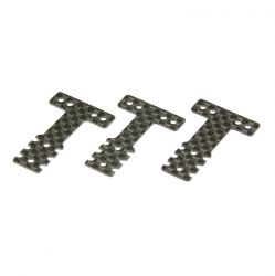 Peça Kyosho Mzw404 Carbon Rear Suspension Plate Set Rm Hm