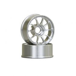 Peça Kyosho R246-1552 Ce28N Wheel Narrow Off Set 2,5 Mm Silver