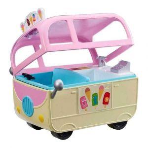 Peppa Pig Veículo com Boneco Van do Sorvete Sunny