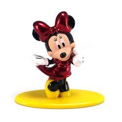 Boneco Minnie Mouse Disney Pixar 4 Cm Nano Metalfigs Jada Toys