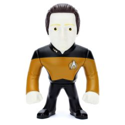 Boneco Data Star Trek 10 Cm Metals Die Cast Jada Toys
