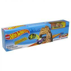 Pista Hot Wheels Mega Jump Caverna da Cobra Mattel