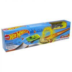 Pista Hot Wheels Mega Jump Mega Salto Radical Mattel