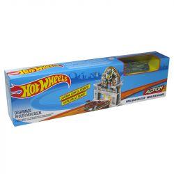 Pista Hot Wheels Mega Jump Robo Destruidor Mattel