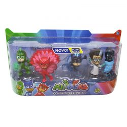 Pj Masks Super Kit Bonecos Original Serie 2 Dtc