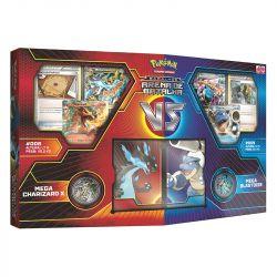 Pokémon Deck Arena de Batalha Mega Charizard x Vs Blastoise - Copag