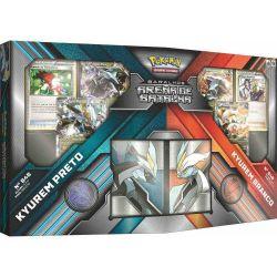 Pokémon Deck Arena de Batalha Mega Kyurem Preto x Kyurem Branco - Copag