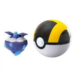 Pokémon e Pokébola Carbink Ultra Bola - Sunny
