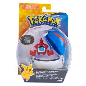 Pokémon e Pokébola Rotom Pokédex Super Bola - Sunny