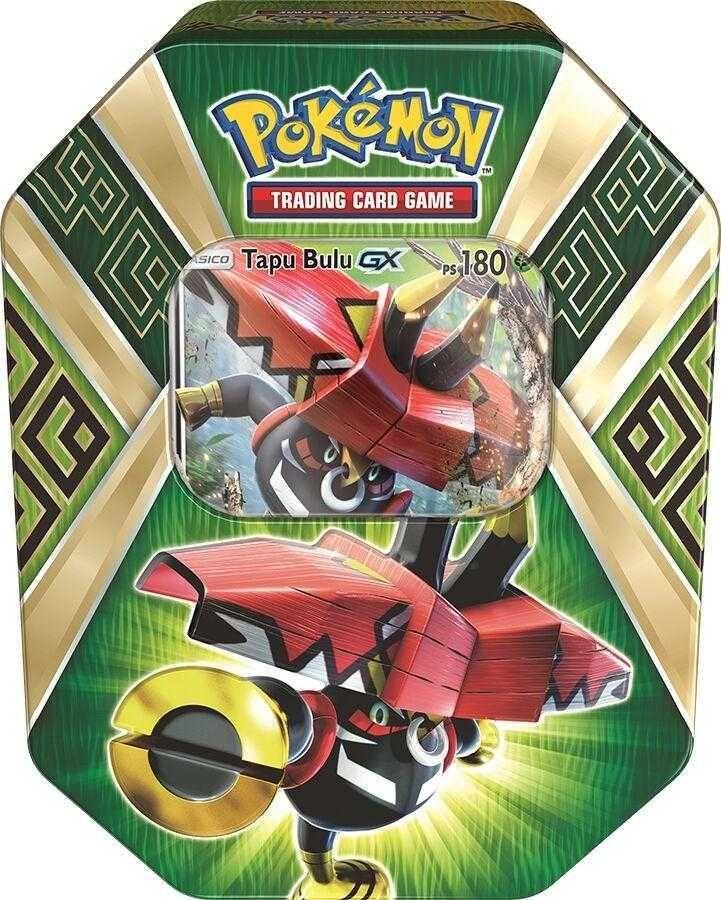 Pokémon Lata Colecionável Gx Guardiões das Ilhas Tapu Bulu - Copag