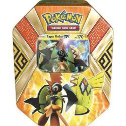 Pokémon Lata Colecionável Gx Guardiões das Ilhas Tapu Koko - Copag
