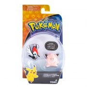Pokémon Mini Figuras Pikipek Vs Clefairy - Sunny
