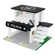 Posto Policial em Madeira Hot Wheels - Junges