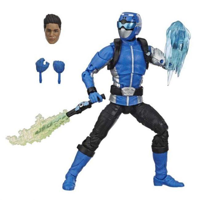 Power Rangers Lightning Collection Boneco Articulado Beast Morphers Blue Ranger Hasbro