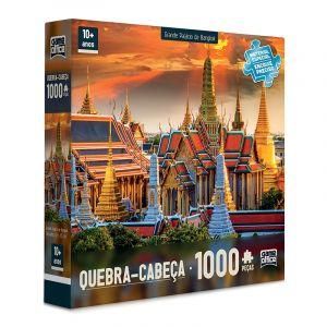 Quebra Cabeça 1000 Peças Grande Palácio de Bangkok Toyster