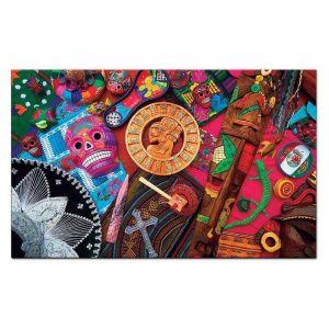Quebra Cabeça 2000 Peças Culturas do Mundo México Toyster