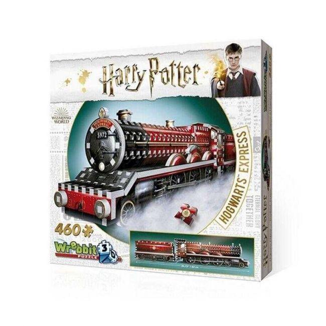 Quebra Cabeça 460 Peças Harry Potter 3D Expresso de Hogwarts Galápagos
