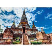 Quebra Cabeça Puzzle 2000 Peças Templo Tailandês Grow