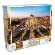 Quebra Cabeça Puzzle 500 Peças Palácio de Belas Artes Grow