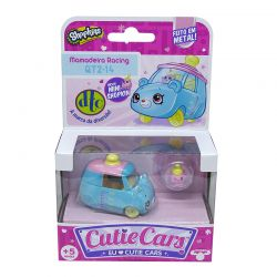 Shopkins Cutie Cars 1 Carro Mamadeira Racing 1 Mini Shopkin Dtc