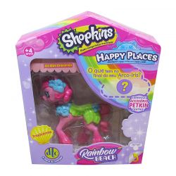 Shopkins Happy Places Rainbow Beach Tropicórnia Dtc