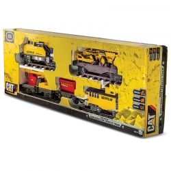 Trenzinho Gigante Construction Express Train Cat Trem Dtc